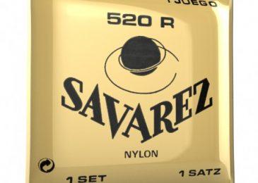 Cordes de guitare Savarez rouge 520r