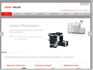 Print Value: location de photocopieurs