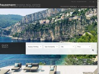 Haussmann Real Estate: agence immobilière à Nice