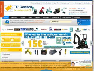 Trouvez tous les matériels pour le BTP avec «TR Conseil»