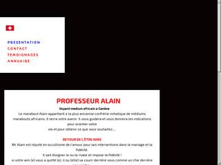 Monsieur Alain : médium et voyant à Genève